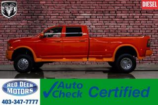 Used 2012 RAM 3500 4x4 Crew Cab SLT DRW Diesel Roof Nav for sale in Red Deer, AB
