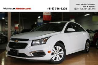 Used 2015 Chevrolet Cruze 1LT 1.4T - BACKUPCAM|BLUETOOTH|POWER WINDOWS for sale in North York, ON
