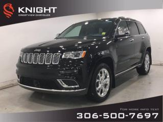 New 2020 Jeep Grand Cherokee Summit | Leather | Sunroof | Navigation | for sale in Regina, SK