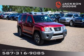 Used 2015 Nissan Xterra PRO-4X - NAV, Leather, Rear View Camera for sale in Medicine Hat, AB