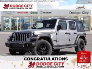 New 2020 Jeep Wrangler Unlimited Sport Altitude for sale in Saskatoon, SK