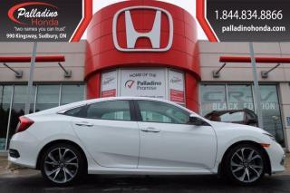 Used 2019 Honda Civic Sedan Touring for sale in Sudbury, ON