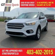 Used 2017 Ford Escape SE 4WD | $0 DOWN - EVERYONE APPROVED! for sale in Calgary, AB