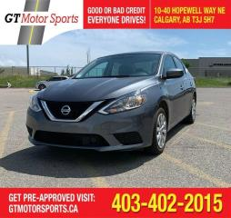 Used 2018 Nissan Sentra SV for sale in Calgary, AB