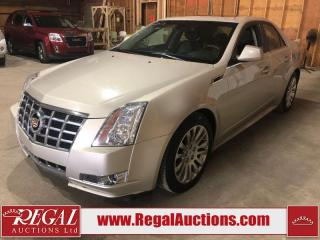 Used 2013 Cadillac CTS 4 PREMIUM 4D SEDAN AWD for sale in Calgary, AB