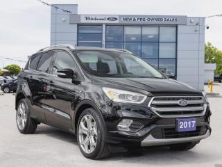 Used 2017 Ford Escape Titanium 1 OWNER   TECH AND CDN TOURING PKGS for sale in Winnipeg, MB