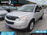 Photo of Silver 2010 Chevrolet Traverse