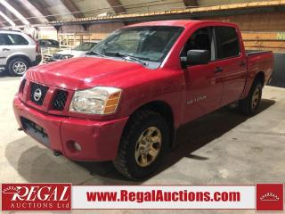 Used 2005 Nissan Titan 4D Crew CAB 4WD for sale in Calgary, AB