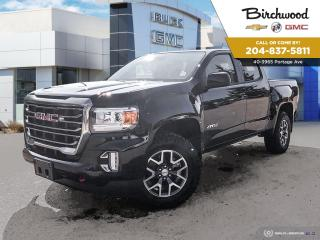 New 2021 GMC Canyon 4WD AT4 w/Cloth Buy from Home with Birchwood! for sale in Winnipeg, MB
