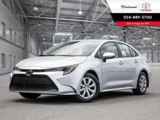 New 2020 Toyota Corolla LE UPGRADE PKG W/CARGO LINER for sale in Winnipeg, MB