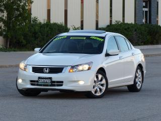 Used 2009 Honda Accord LEATHER,EX-L,NAVIGATION,FULLY LOADED,NO-ACCIDENTS for sale in Mississauga, ON