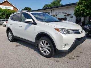 Used 2015 Toyota RAV4 LIMITED AWD for sale in Waterdown, ON