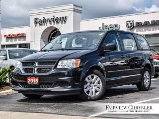 Used 2016 Dodge Grand Caravan Canada Value Package   3RD ROW STOW N GO for sale in Burlington, ON