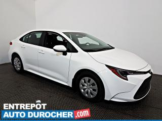 Used 2020 Toyota Corolla L AIR CLIMATISÉ - Caméra de Recul for sale in Laval, QC