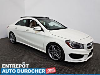 Used 2016 Mercedes-Benz CLA-Class CLA 250 NAVIGATION - Toit Ouvrant - A/C - Cuir for sale in Laval, QC