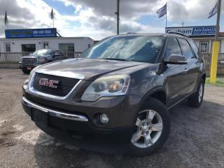 Used 2007 GMC Acadia SLT1 for sale in Whitby, ON