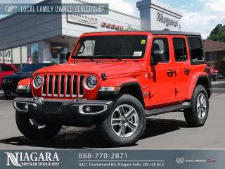 New 2020 Jeep Wrangler Unlimited Sahara for sale in Niagara Falls, ON