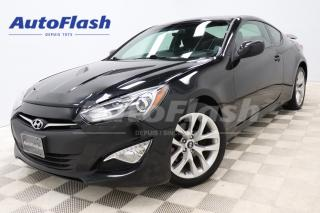 Used 2013 Hyundai Genesis Coupe *2.0T *M6 *Bluetooth *Clean! for sale in Saint-Hubert, QC