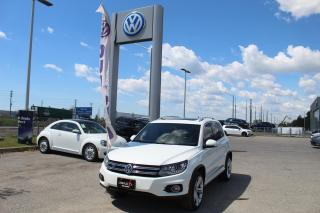 Used 2016 Volkswagen Tiguan 4MOTION 4DR AUTO HIGHLINE for sale in Whitby, ON