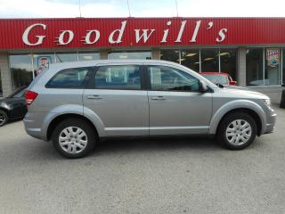 Used 2018 Dodge Journey CVP! CLEAN CARFAX! BLUETOOTH! for sale in Aylmer, ON