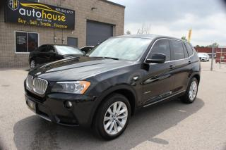 Used 2013 BMW X3 NAVI,AWD,PANAROOF,BACKUP CAMERA for sale in Newmarket, ON