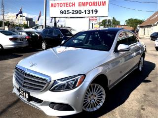 Used 2016 Mercedes-Benz C-Class C300 4Matic AWD Navigation/Leather/Camera/Pano Roof for sale in Mississauga, ON