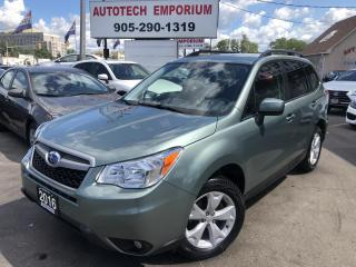 Used 2016 Subaru Forester Convenience AWD Camera/Heated Seats/Bluetooth&GPS* for sale in Mississauga, ON