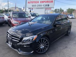 Used 2017 Mercedes-Benz C 300 C300 4Matic AWD Navigation/Pano Roof/Camera/Dynamic for sale in Mississauga, ON