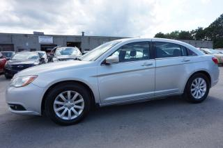Used 2011 Chrysler 200 TOURING CERTIFIED 2YR WARRANTY *FREE ACCIDENT* BLUETOOTH HEATED ALLOYS for sale in Milton, ON