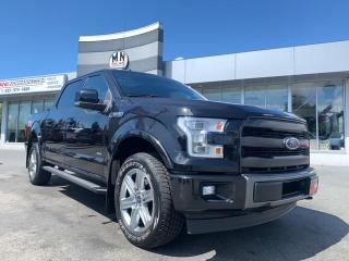 Used 2015 Ford F-150 Lariat FX4 ECOBOOST 4WD NAVI SUNROOF 20'S 46KM for sale in Langley, BC