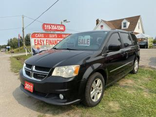 Used 2011 Dodge Grand Caravan Crew call/text 5197327478,7 passenger, Sto&Go, new tires for sale in Brantford, ON
