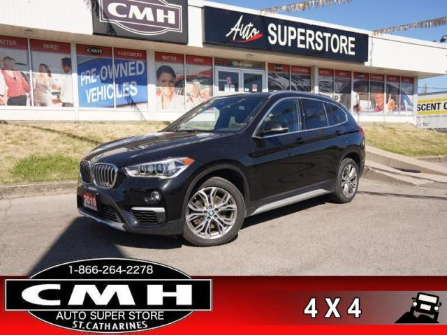 2019 BMW X1 xDrive28i  DIESEL NAV ROOF CAM LEATH P/SEAT HS