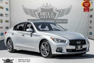 Used 2015 Infiniti Q50 Sport, AWD, NAVI, 360 CAM, B.SPOT, SUNROOF for sale in Toronto, ON