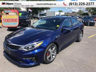 Used 2019 Kia Optima SX Turbo Auto  SX, TURBO, SUNROOF, NAV, LEATHER, LOADED!!! for sale in Ottawa, ON