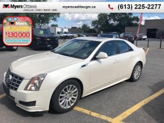 Used 2013 Cadillac CTS LUXURY  V6, SUNROOF, NAV, LEATHER, REMOTE START, HEATED SEATS for sale in Ottawa, ON