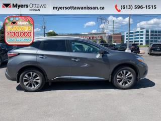 Used 2016 Nissan Murano SL  - Sunroof -  Navigation - $150 B/W for sale in Ottawa, ON