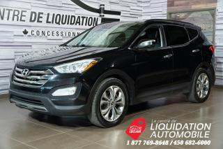 Used 2014 Hyundai Santa Fe Sport Limited+TOIT+CUIR+GPS for sale in Laval, QC