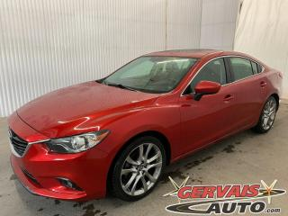 Used 2015 Mazda MAZDA6 GT GPS Bose Cuir Toit Ouvrant MAGS for sale in Trois-Rivières, QC