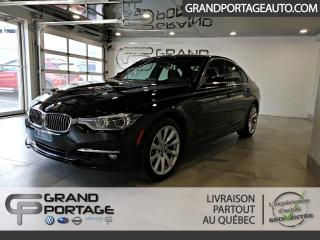 Used 2017 BMW 3 Series 330i xDrive berline 4 portes TI for sale in Rivière-Du-Loup, QC