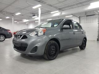 Used 2017 Nissan Micra S - A/C for sale in St-Eustache, QC