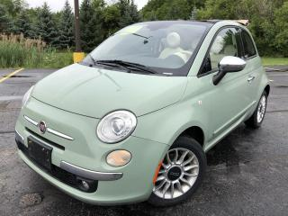Used 2012 Fiat 500 Lounge 2WD for sale in Cayuga, ON