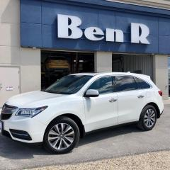Used 2016 Acura MDX Tech for sale in Steinbach, MB