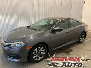Used 2016 Honda Civic EX Toit Ouvrant Bluetooth Caméra Mags *Transmission Automatique* for sale in Trois-Rivières, QC