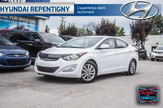 Used 2016 Hyundai Elantra SPORT 4 PORTES**A/C, TOIT OUVRANT, MAGS, CAMÉRA** for sale in Repentigny, QC