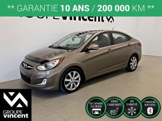 Used 2012 Hyundai Accent GLS ** GARANTIE 10 ANS ** Bas kilométrage! for sale in Shawinigan, QC