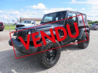 Used 2018 Jeep Wrangler Sport 4X4 for sale in Lévis, QC