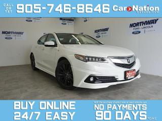 Used 2017 Acura TLX ELITE SH-AWD |A SPEC |V6| LEATHER | SUNROOF | NAV for sale in Brantford, ON