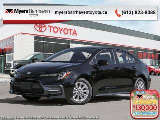 New 2020 Toyota Corolla SE  - Upgraded Motor -  Aerodynamics - $153 B/W for sale in Ottawa, ON