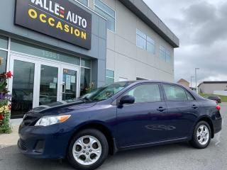 Used 2011 Toyota Corolla 4DR SDN AUTO LE for sale in St-Georges, QC