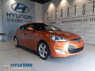 Used 2015 Hyundai Veloster MANUELLE+ AIR CLIMATISÉ + BLUETOOTH + MA for sale in Sherbrooke, QC